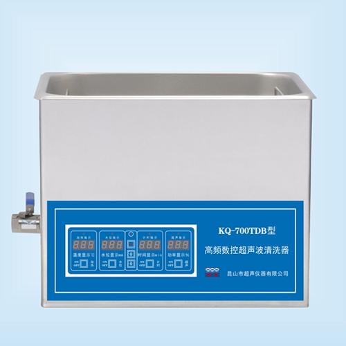 昆山舒美KQ-700TDB高频超声波清洗机