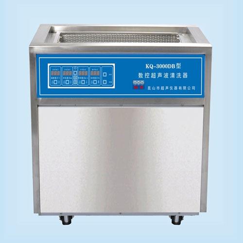 昆山舒美KQ-3000DB落地式数控超声波清洗机